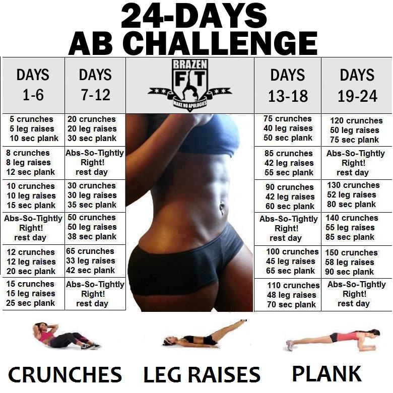 24 days ab challenge www.ioanaradu.com