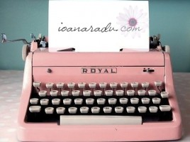 blog masina de scris