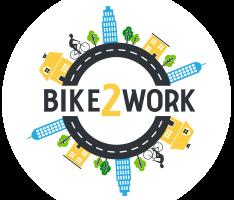 logo bike2work