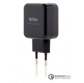 travel charger quick charger incarcator Vetter