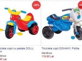 noriel tricicleta copii