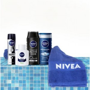 set nivea for him