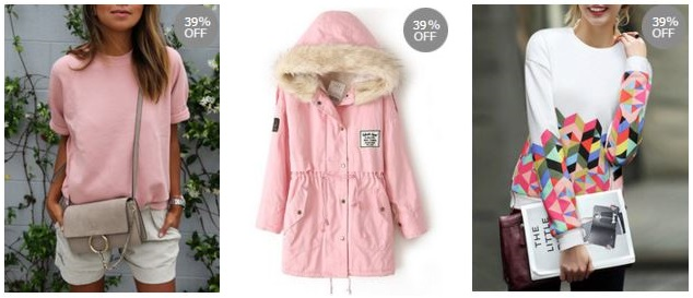 reduceri haine roz