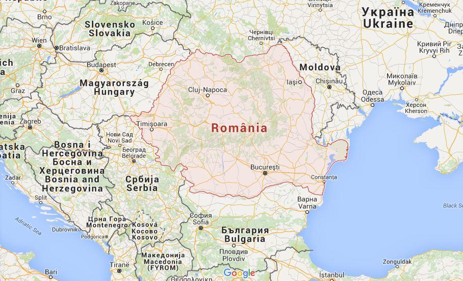 Transylvania romania google maps
