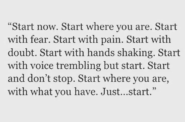 start now - cum m-am apucat de sala - ioanaradu