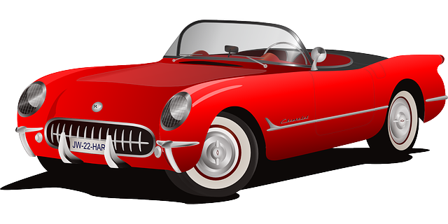 red car auto