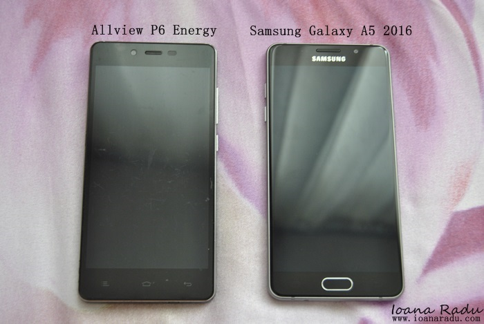 08 Allview P6 Energy si Samsung Galaxy A5 2016