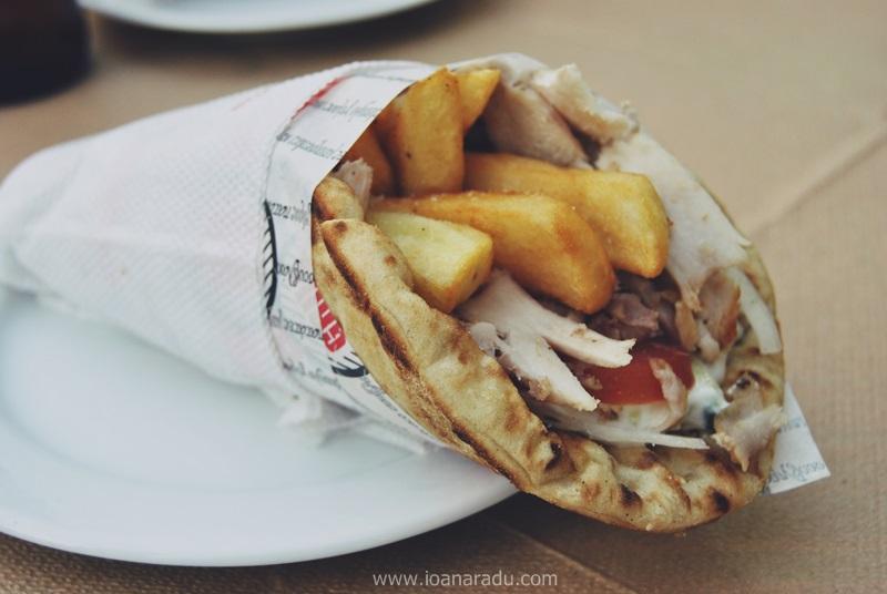 gyros shaorma fast-food