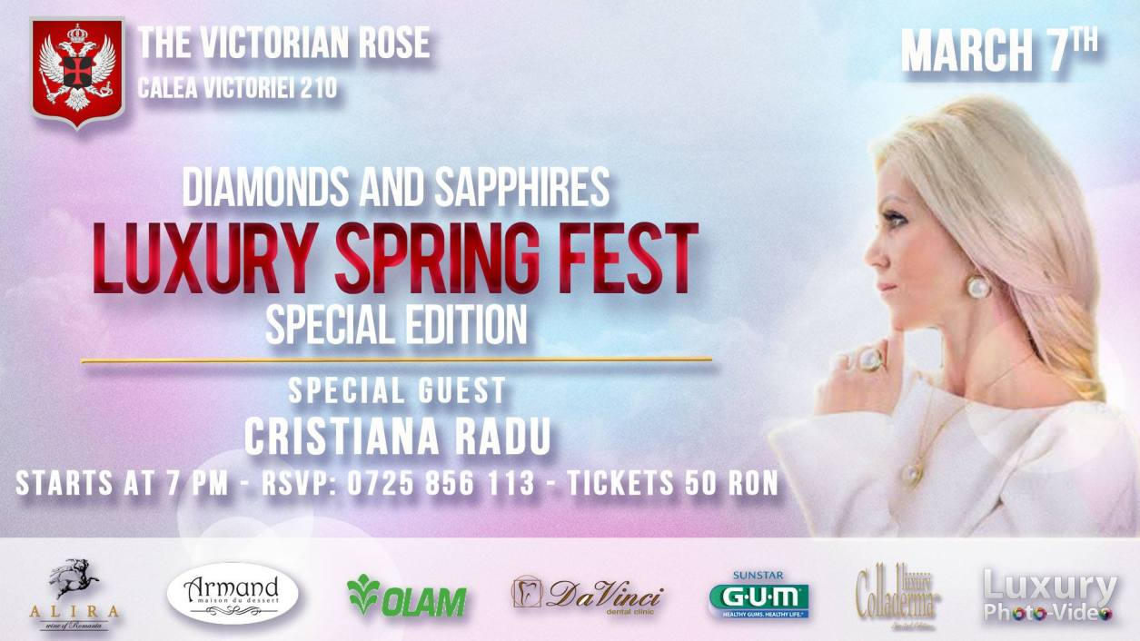 Luxury Spring Fest Bucuresti 2017