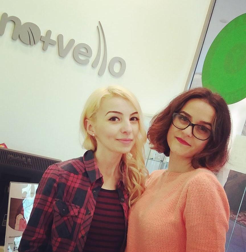Ioana Radu si Roxana Nastase la Nomasvello AFI Palace Cotroceni epilare definitiva