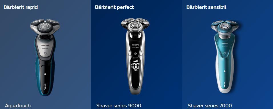 aparate de barbierit Philips