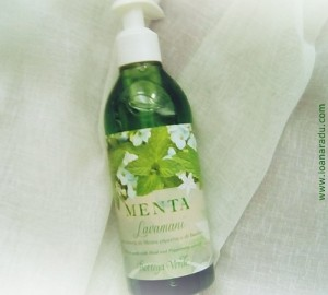 05 bottega verde Sapun lichid cu extract de menta si busuioc