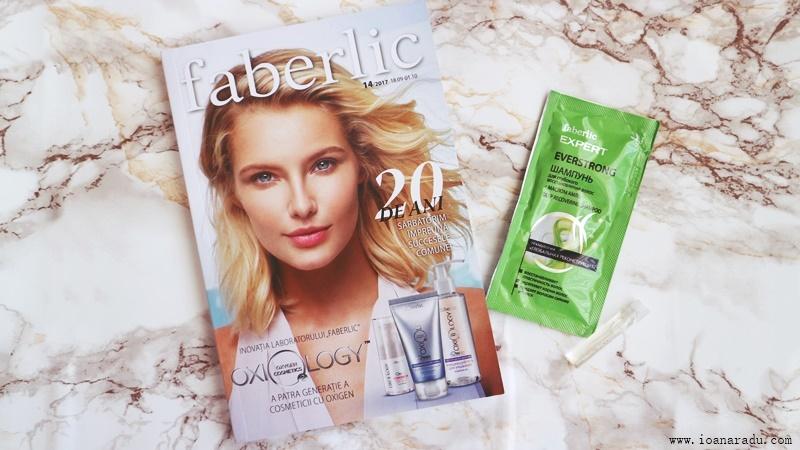 cadou Faberlic catalog mostra sampon mostra parfum