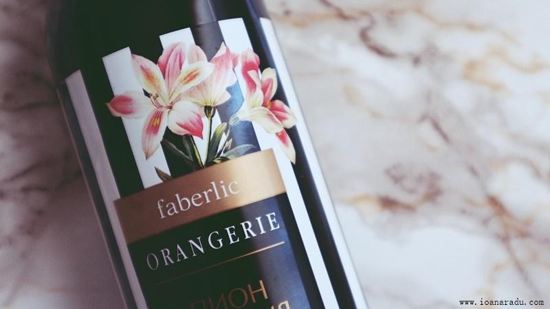 gel de dus cu bujor si crin Orangerie Faberlic Romania