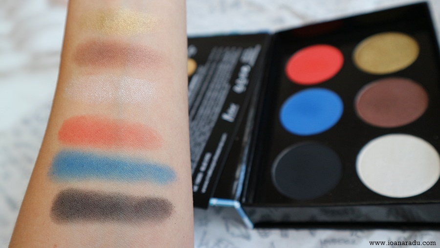 Melkior Professional Romania trusa 6 farduri For Blue Eyes swatch