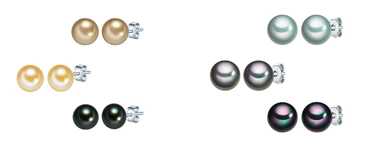cercei de argint cu perle