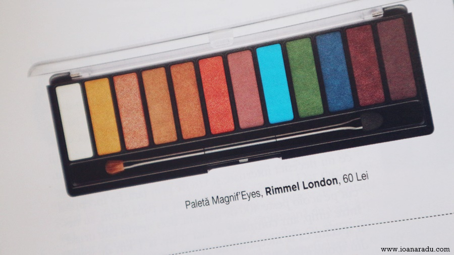 paleta Magnif Eyes Rimmel London