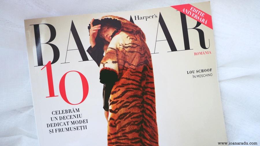 revista Harpers Bazaar octombrie 2017