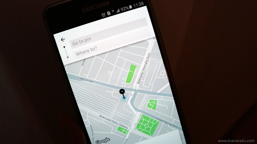 prima experienta cu Uber