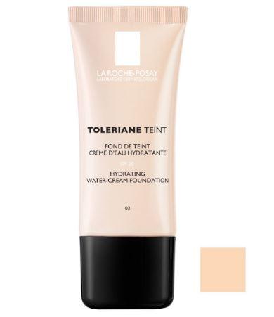 Fond de ten crema La Roche-Posay Toleriane Teint cu efect hidratant, 01 Ivory