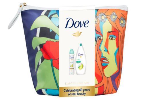 Pachet Aniversar Dove Liberation Gel de dus Rejuvenate si Deodorant spray Pear Aloe Vera
