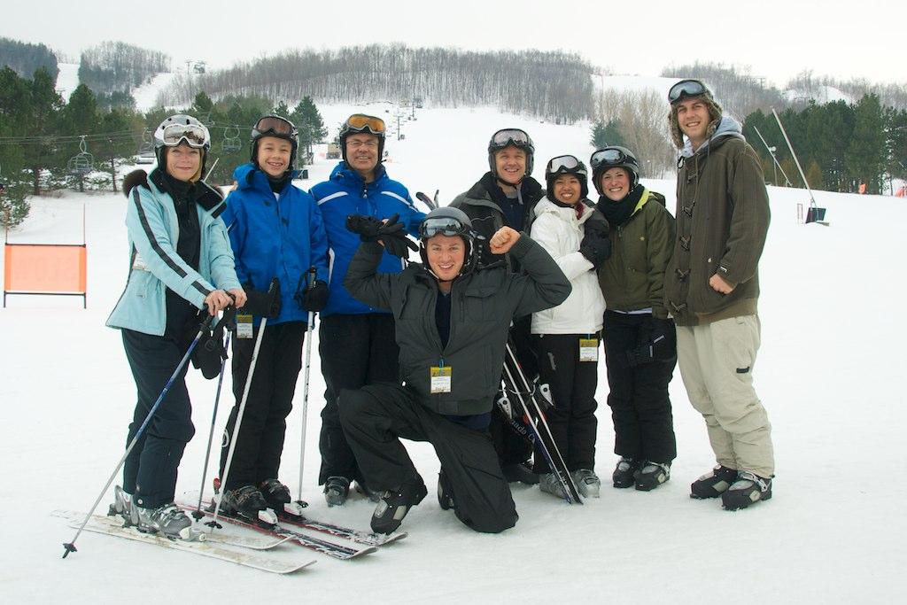 Team Building Ski Triplaces