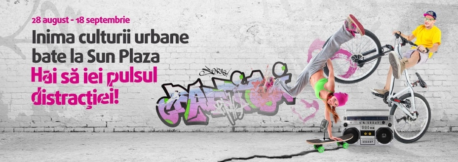 Urban Culture event at Sun Plaza Bucharest