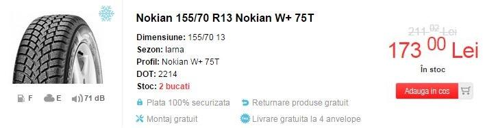 anvelope de iarna Nokian