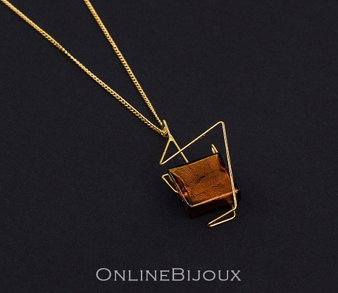 online bijoux handmade lantisor cu pandantiv