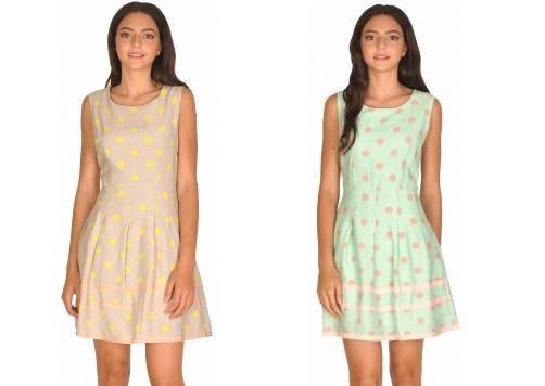 rochie casual cu buline 01