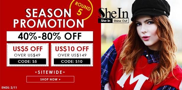 shein promotions round 5