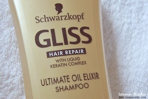 sampon GLISS Ultimate Oil Elixir 1
