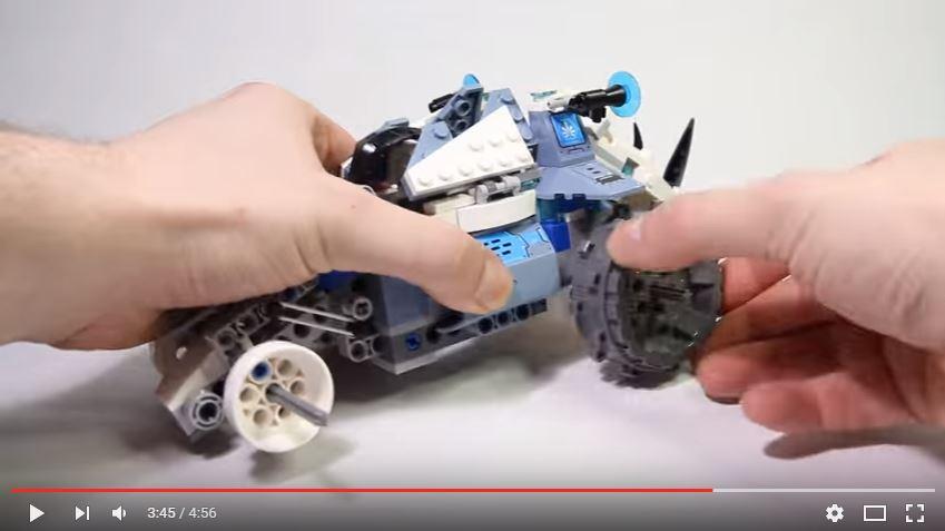 Lego Chima - Aruncatorul de pietre al lui Rogon