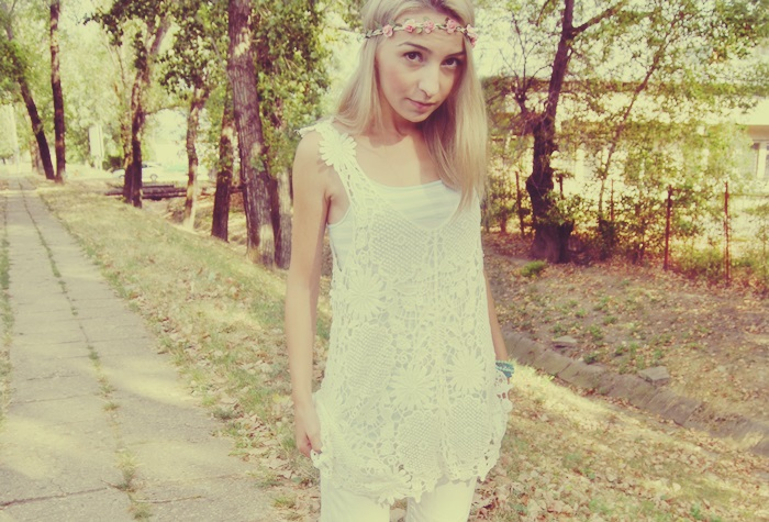 06 OOTD white outfit rochie de plaja