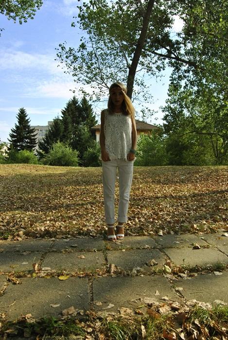 08 OOTD white outfit rochie de plaja