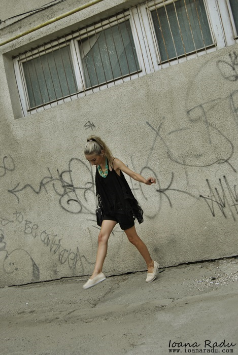 09 OOTD all black espadrile Monti Shoes