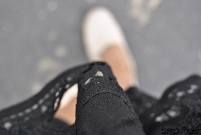 11 OOTD all black espadrile Monti Shoes