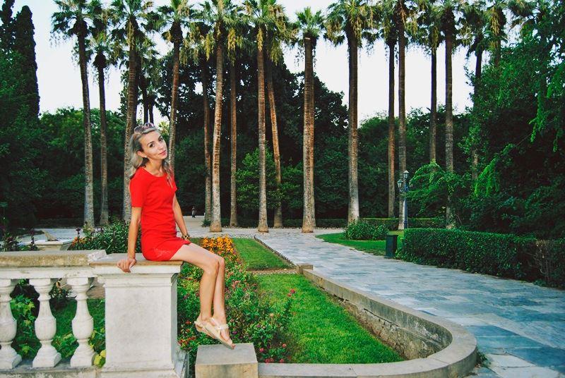 Ioana Radu - National Gardens Athena Greece