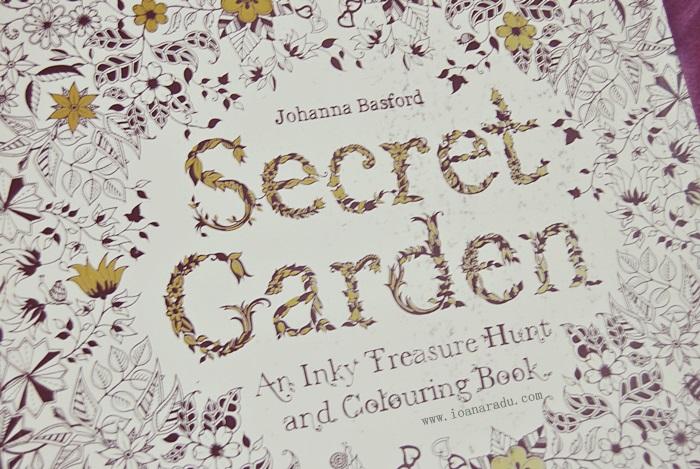 carte de colorat Gradina Secreta Johanna Basford 01