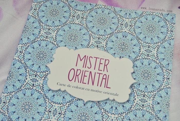 carte de colorat Mister Oriental 01