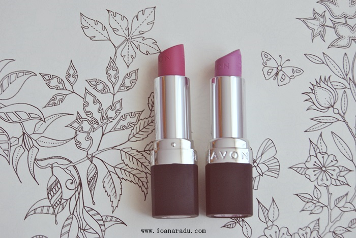ruj true colour perfectly matte adoring love and ideal lilac 01