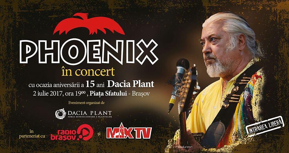concert Phoenix Dacia Plant Brasov 2017