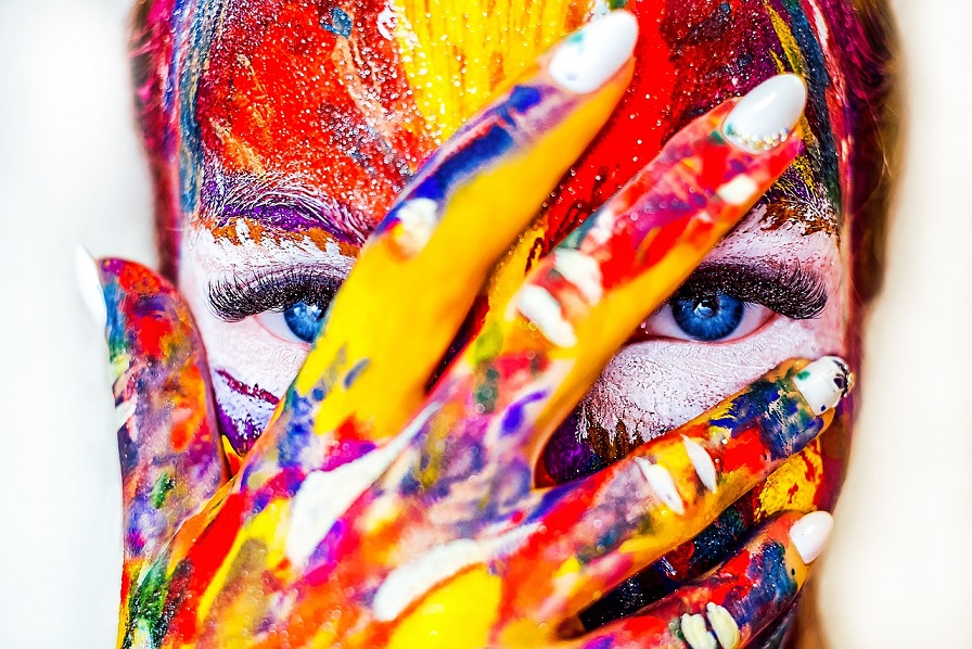 beauty paint makeup