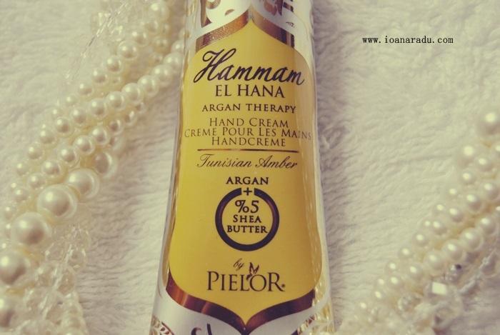 crema de maini Hammam Tunisian Amber by Pielor