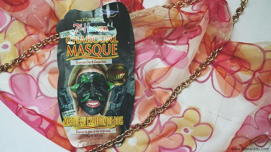 Charcoal masque - masca de fata pe baza de carbune