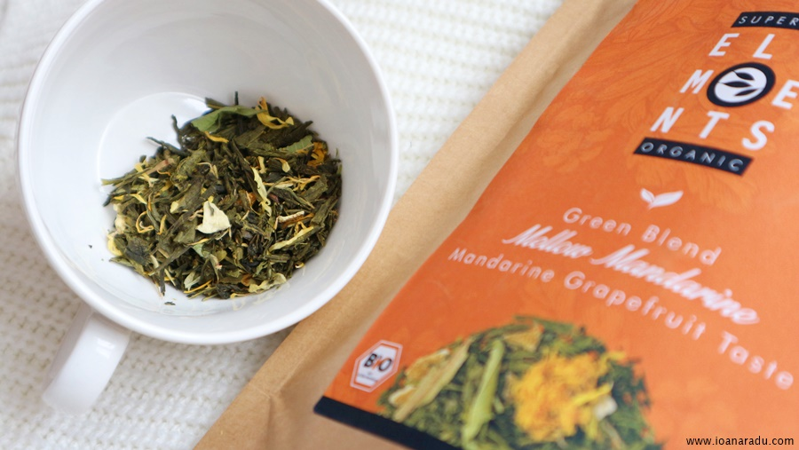 Ceai Mellow Mandarine Organic plante
