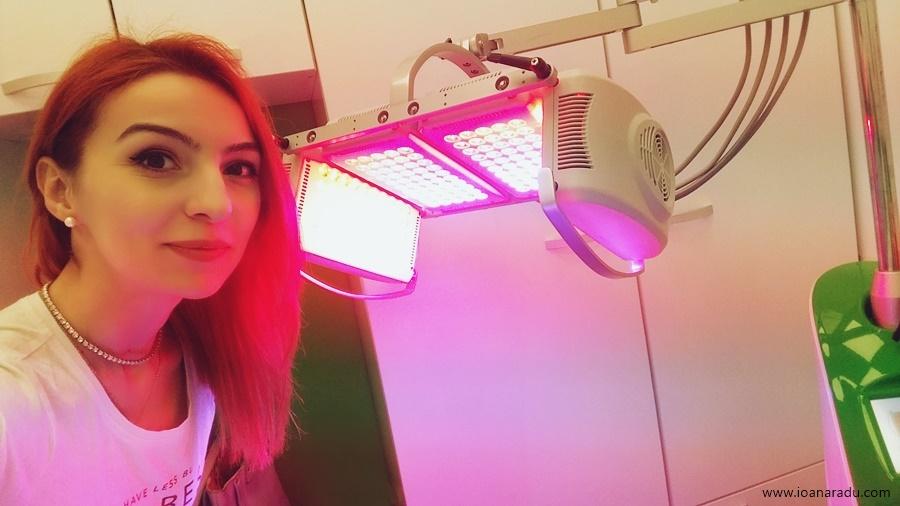 Ioana Radu tratamente faciale LED+Esthetic Nomasvello AFI Palace Cotroceni