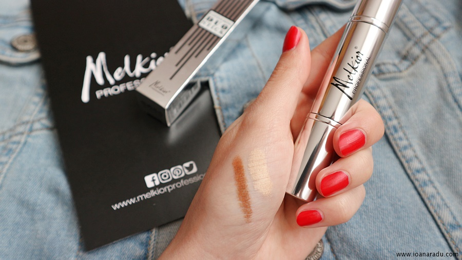 swatch contouring duo stick Melkior Professional