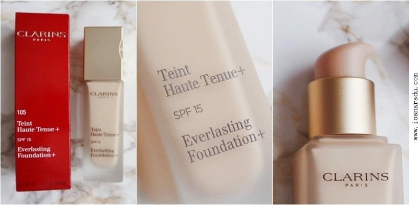 Fond de ten Clarins Everlasting Foundation