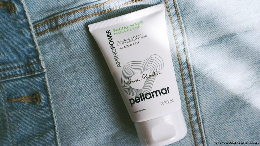 Mască de față tratament intensiv PellAmar Cosmetics AminoPower